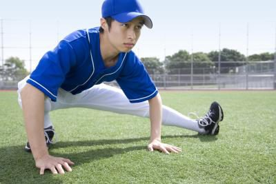 How to warm up before baseball game
