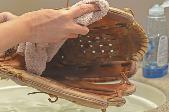 How to clean your baseball or softball glove
