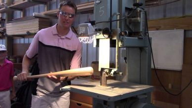 how to make a wooden baseball bat
