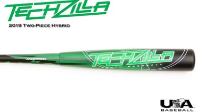 2019 Anderson Techzilla S-Series Hybrid Youth Bat Review