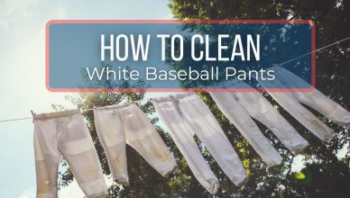 What Is The Best Way To Clean White Baseball Pants