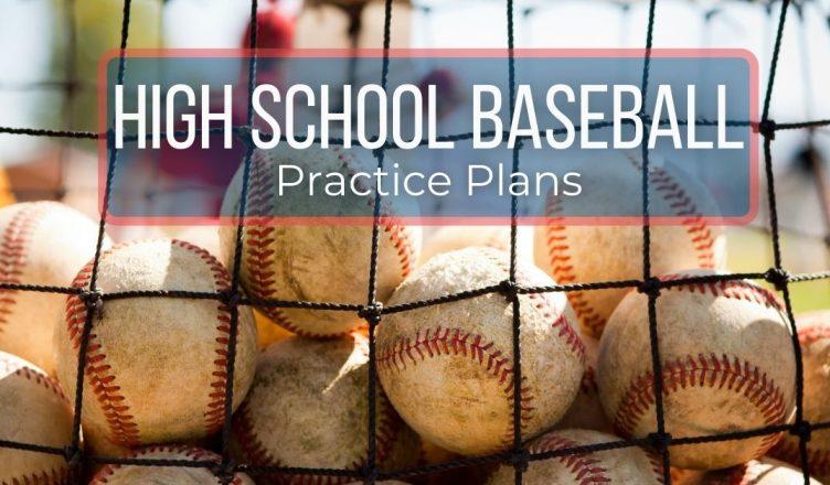 high school baseball practice plans