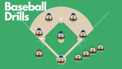 Baseball Eagle Drills