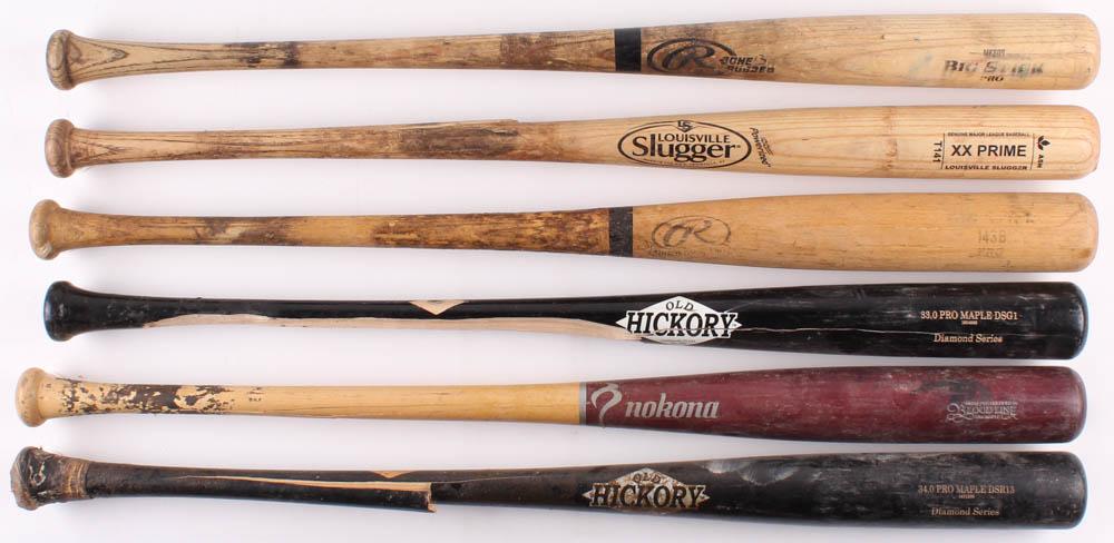 Used Wood Baseball Bats