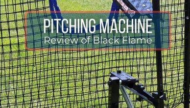 Black Flame Pitching Machine