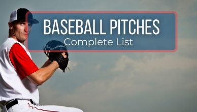 List of Baseball Pitches
