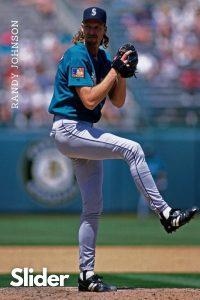 Slider Randy Johnson