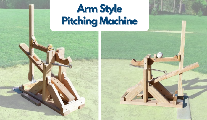 Homemade Pitching Machine