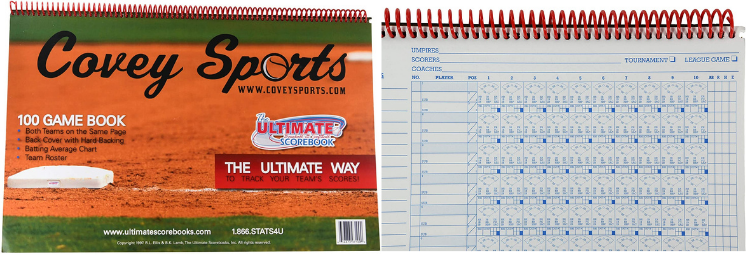 Covey Sports Scorebook