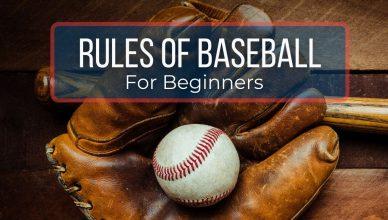 Rules of baseball for beginners